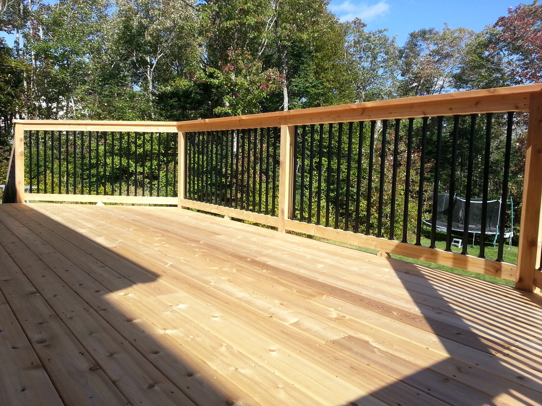 Deck materials can have a long life span if installed and for Cedar decks pros and cons